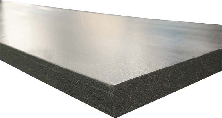 silverglo crawl space wall insulation panels look different because