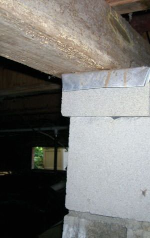 foundation wall cracks due to street creep in Pequot Lakes