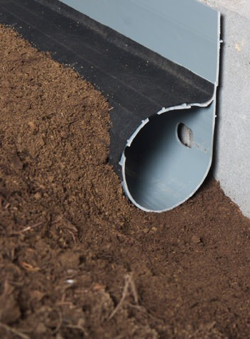 crawl space drain system installed in Deer River