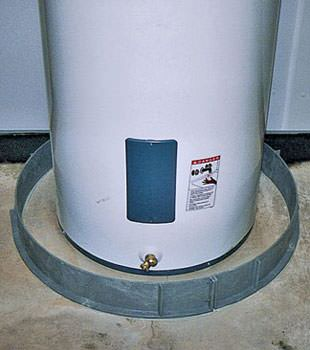 an old water heater in cumberland mn and wi with flood protection