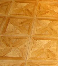 Parquet basement floor tiles Rice Lake, Minnesota and Wisconsin