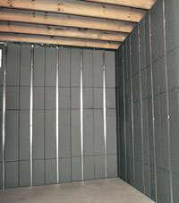 Thermal insulation panels for basement finishing in Bemidji, Minnesota and Wisconsin