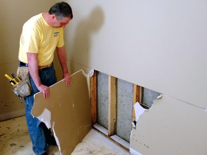 everlast finished wall restoration system permanently repair drywall