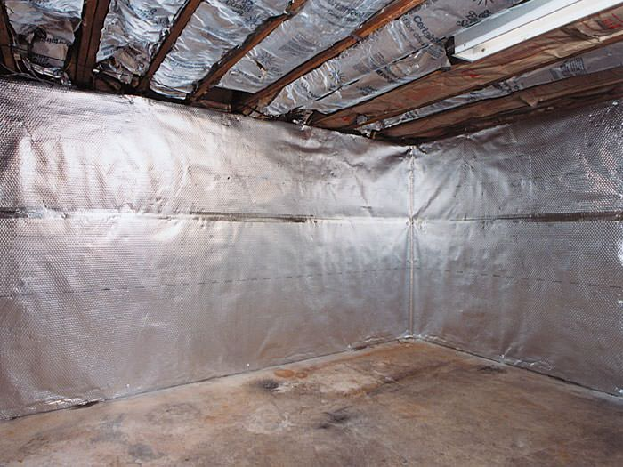thermaldry basement radiant wall barrier protect finished basement